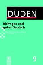 Duden Richtiges und Gutes Deutsch in Allgemeinsprache