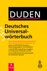 Duden Deutsches Universalwörterbuch in Allgemeinsprache
