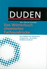 Duden Das Wörterbuch chemischer Fachausdrücke in Fachwörterbücher