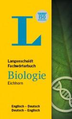 Langenscheidt Fachwörterbuch Deutsch Englisch Biologie in Fachwörterbuch