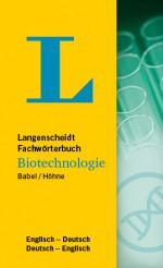 Langenscheidt Wörterbuch Deutsch Englisch Biotechnologie in Fachwörterbücher