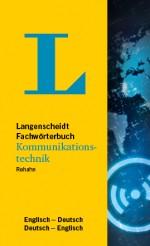 Langenscheidt Wörterbuch Deutsch Englisch Kommunikationstechnik in Fachwörterbücher