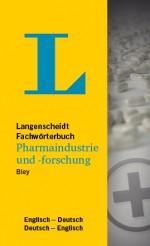 Langenscheidt Wörterbuch Englisch Deutsch Pharmaindustrie und -forschung in Fachwörterbücher