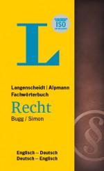 Langenscheidt Wörterbuch Englisch Deutsch Recht in Fachwörterbücher