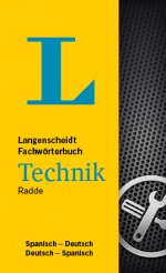 Langenscheidt Wörterbuch Spanisch Deutsch Technik in Fachwörterbücher