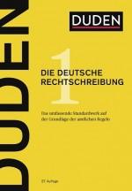 Duden Die deutsche Rechtschreibung in Fachwörterbücher